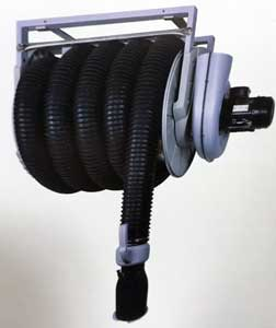 Vehicle Exhaust Fume Hose Reels